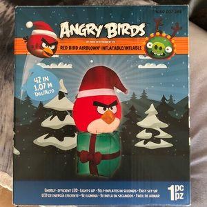 Angry Birds Christmas inflatable